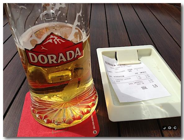 1 pint = 1 euro