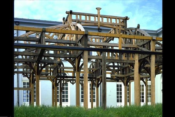 houten gebinte