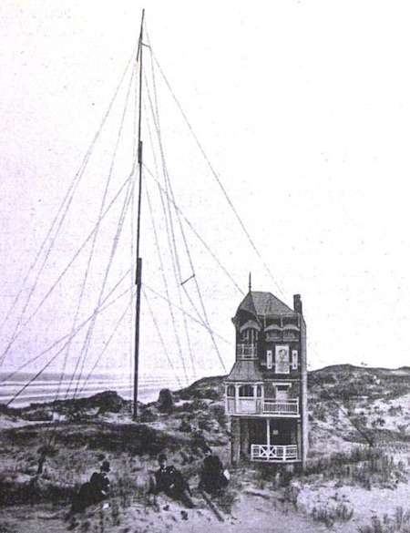 Bovenste deel antenne is draaibaar