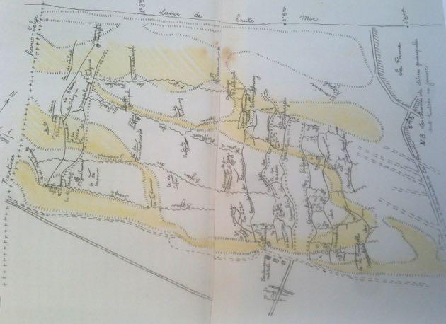 Loopgraven in de Westhoekduinen