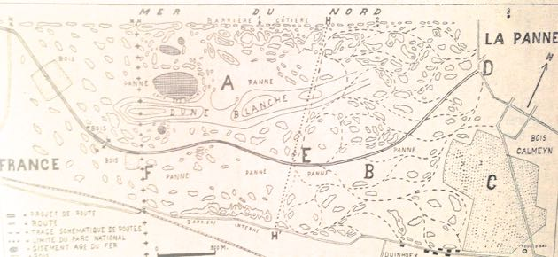 Plan 1933 voorgelegd aan de Koninklijke Comissie voor Monumenten en Landschappen