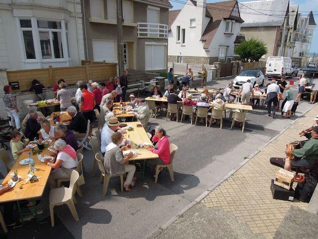 Jaarlijks feest Wimereux