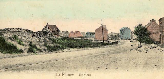 Zeelaan richting Strand (foto genomen ter hoogte van huidige Mon Bijou)