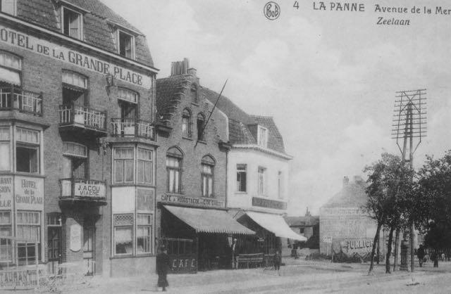 Huis midden is de Bains