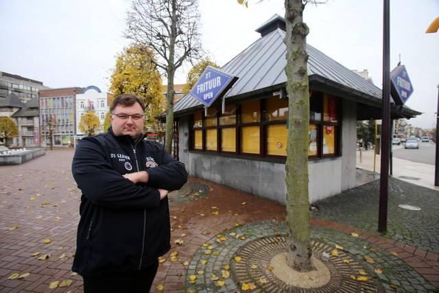 De Panne: De Markt wordt heraangelegd frituuruitbatar Jurgen Gevers