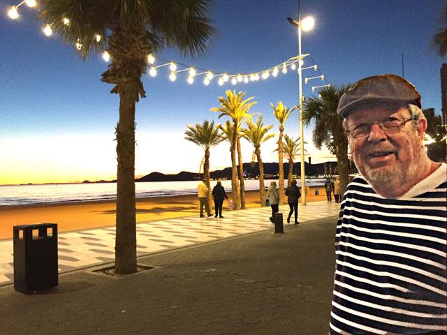 Promenade Benidorm