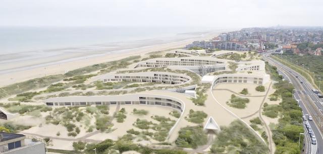 Complex Zeepark ook van Groep Caenen Capital Fund nv